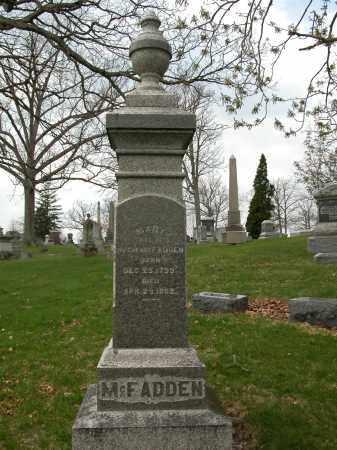MCFADDEN, MARY - Union County, Ohio | MARY MCFADDEN - Ohio Gravestone Photos