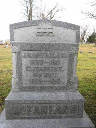 MCFARLAND, ELIZABETH ELLEN LOWE - Union County, Ohio   ELIZABETH ELLEN LOWE MCFARLAND - Ohio Gravestone Photos