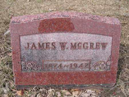 MCGREW, JAMES W. - Union County, Ohio   JAMES W. MCGREW - Ohio Gravestone Photos