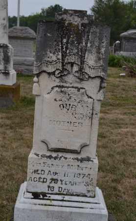 MCINTIRE, FANNY - Union County, Ohio   FANNY MCINTIRE - Ohio Gravestone Photos