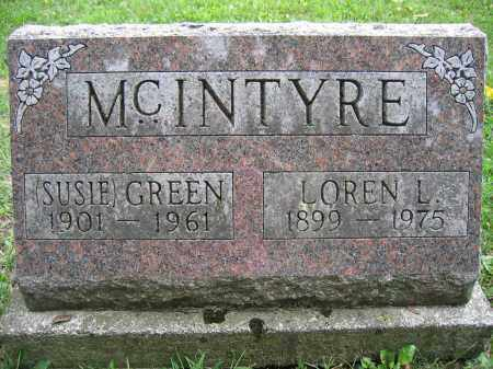 MCINTYRE, LOREN L. - Union County, Ohio | LOREN L. MCINTYRE - Ohio Gravestone Photos