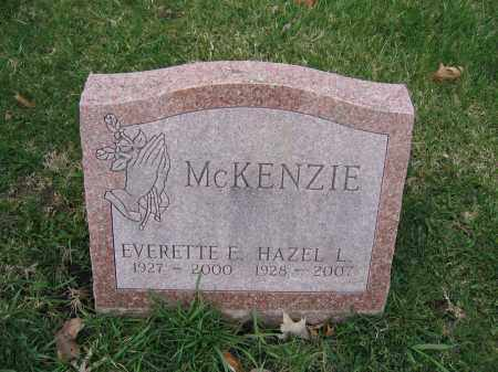 MCKENZIE, EVERETTE E. - Union County, Ohio | EVERETTE E. MCKENZIE - Ohio Gravestone Photos