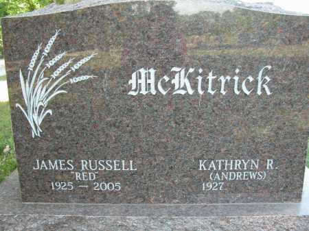 MCKITRICK, JAMES RUSSELL - Union County, Ohio | JAMES RUSSELL MCKITRICK - Ohio Gravestone Photos
