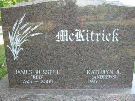 MCKITRICK, JAMES RUSSELL - Union County, Ohio | JAMES RUSSELL MCKITRICK - Ohio Gravestone Photos