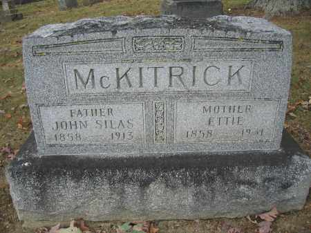 MCKITRICK, ETTIE - Union County, Ohio | ETTIE MCKITRICK - Ohio Gravestone Photos