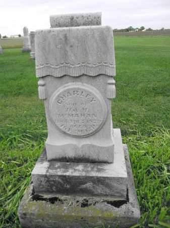 MCMAHAN, CHARLEY - Union County, Ohio | CHARLEY MCMAHAN - Ohio Gravestone Photos