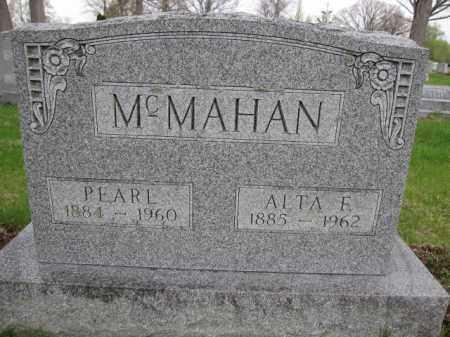 MCMAHAN, ALTA F. - Union County, Ohio | ALTA F. MCMAHAN - Ohio Gravestone Photos