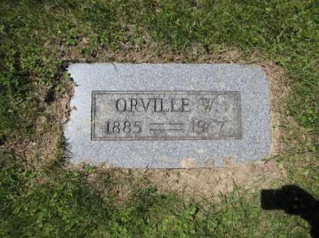 MCMAHON, ORVILLE W. - Union County, Ohio | ORVILLE W. MCMAHON - Ohio Gravestone Photos