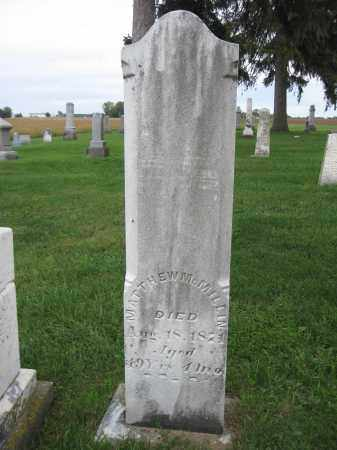 MCMILLIN, MATTHEW - Union County, Ohio | MATTHEW MCMILLIN - Ohio Gravestone Photos