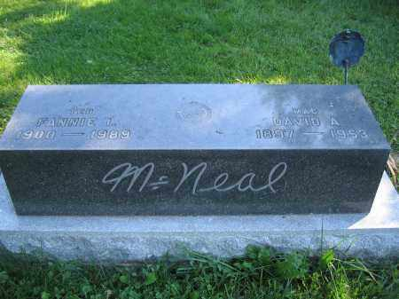 MCNEAL, FANNIE I. - Union County, Ohio   FANNIE I. MCNEAL - Ohio Gravestone Photos