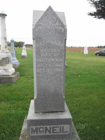 MCNEIL, CATHARINE MCCREA - Union County, Ohio   CATHARINE MCCREA MCNEIL - Ohio Gravestone Photos