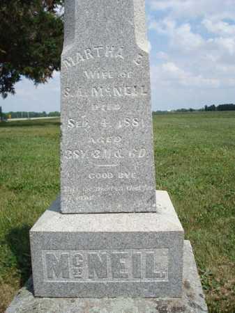 MCNEIL, MARTHA MILLER - Union County, Ohio | MARTHA MILLER MCNEIL - Ohio Gravestone Photos