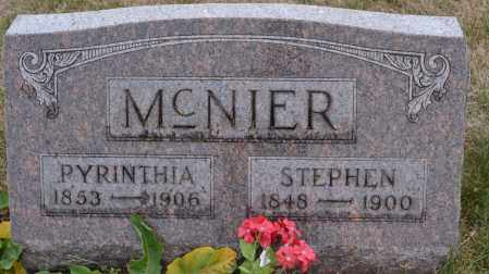 MCNIER, PYRINTHIA - Union County, Ohio | PYRINTHIA MCNIER - Ohio Gravestone Photos