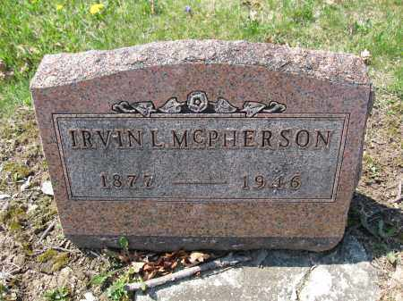 MCPHERSON, IRVIN L. - Union County, Ohio | IRVIN L. MCPHERSON - Ohio Gravestone Photos