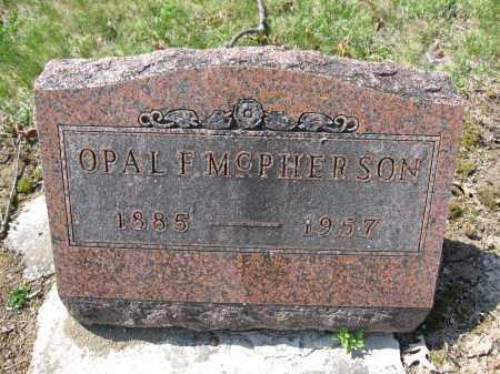 MCPHERSON, OPAL F. - Union County, Ohio | OPAL F. MCPHERSON - Ohio Gravestone Photos