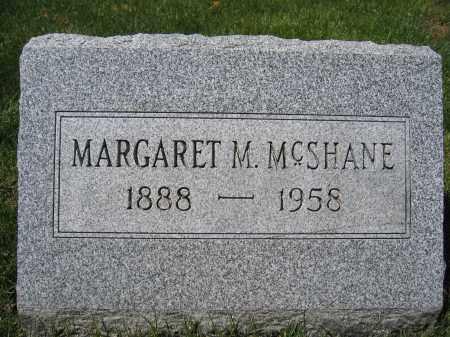 MCSHANE, MARGARET M. - Union County, Ohio   MARGARET M. MCSHANE - Ohio Gravestone Photos