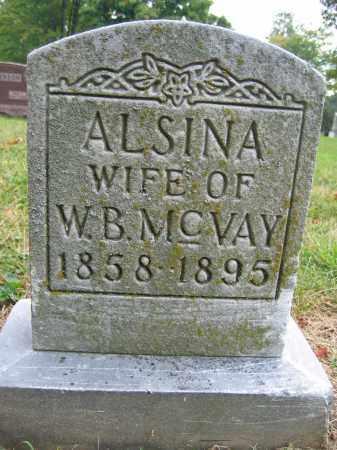 MCVAY, ALSINA - Union County, Ohio | ALSINA MCVAY - Ohio Gravestone Photos