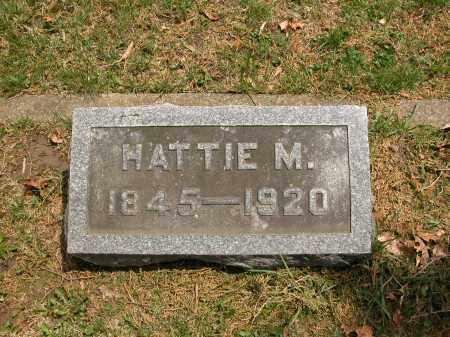MCVEY, HATTIE M. - Union County, Ohio | HATTIE M. MCVEY - Ohio Gravestone Photos