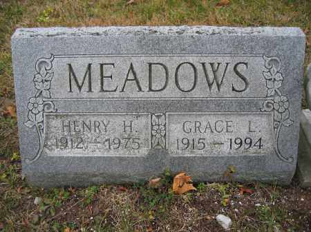 MEADOWS, GRACE L. - Union County, Ohio | GRACE L. MEADOWS - Ohio Gravestone Photos