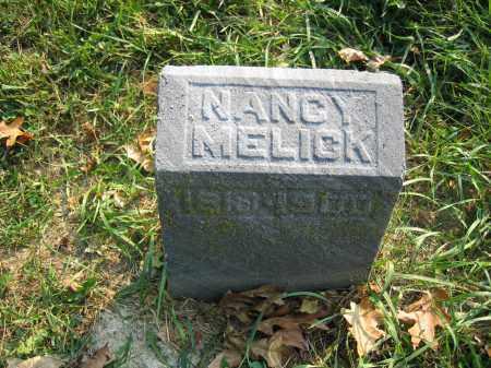 MELICK, NANCY - Union County, Ohio   NANCY MELICK - Ohio Gravestone Photos