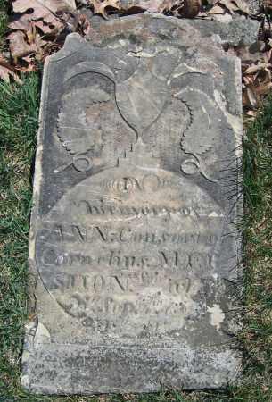 MERSHON, ANN - Union County, Ohio | ANN MERSHON - Ohio Gravestone Photos