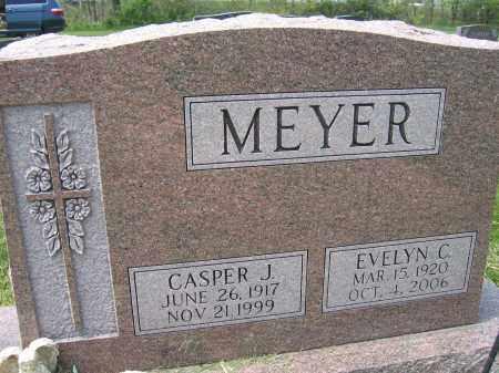 MEYER, EVELYN C. - Union County, Ohio   EVELYN C. MEYER - Ohio Gravestone Photos