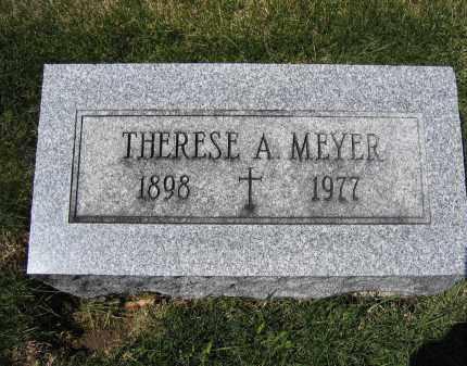 MEYER, THERESE A. - Union County, Ohio | THERESE A. MEYER - Ohio Gravestone Photos