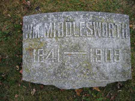 MIDDLESWORTH, WILLIAM - Union County, Ohio | WILLIAM MIDDLESWORTH - Ohio Gravestone Photos