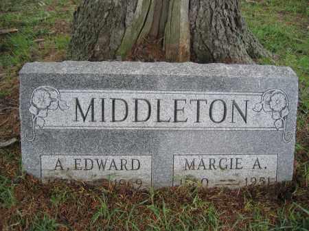 MIDDLETON, A. EDWARD - Union County, Ohio   A. EDWARD MIDDLETON - Ohio Gravestone Photos