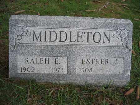 MIDDLETON, RALPH E. - Union County, Ohio | RALPH E. MIDDLETON - Ohio Gravestone Photos