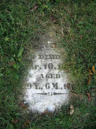 MILES, GEORGE - Union County, Ohio | GEORGE MILES - Ohio Gravestone Photos