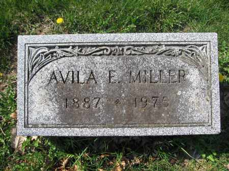 MILLER, AVILA E. - Union County, Ohio   AVILA E. MILLER - Ohio Gravestone Photos