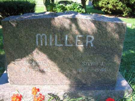 MILLER, ALONZO J. - Union County, Ohio | ALONZO J. MILLER - Ohio Gravestone Photos