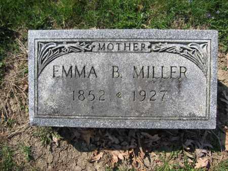 MILLER, EMMA B. - Union County, Ohio | EMMA B. MILLER - Ohio Gravestone Photos