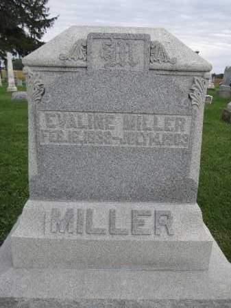 MILLER, EVALINE - Union County, Ohio   EVALINE MILLER - Ohio Gravestone Photos