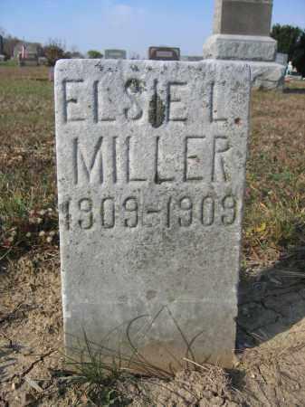 MILLER, ELSIE L. - Union County, Ohio | ELSIE L. MILLER - Ohio Gravestone Photos