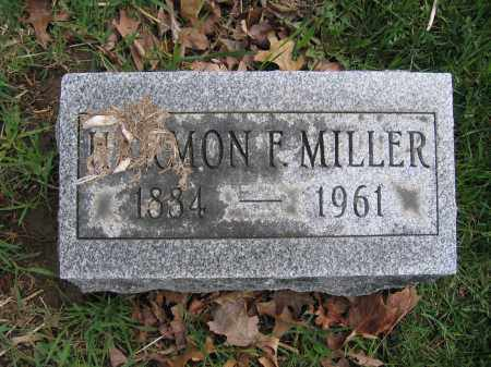 MILLER, HARMON F. - Union County, Ohio   HARMON F. MILLER - Ohio Gravestone Photos