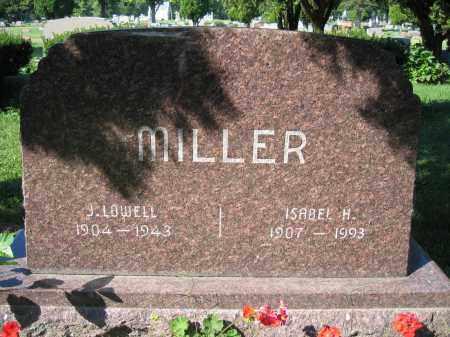 MILLER, J. LOWELL - Union County, Ohio | J. LOWELL MILLER - Ohio Gravestone Photos