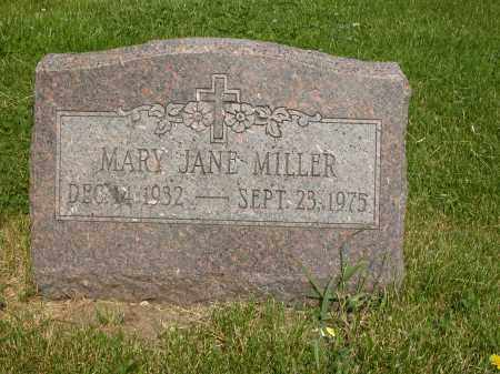 MILLER, MARY JANE - Union County, Ohio | MARY JANE MILLER - Ohio Gravestone Photos