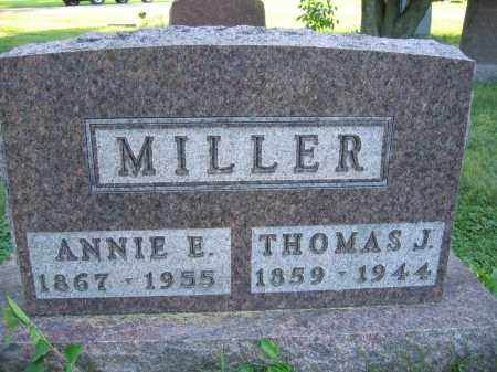 MILLER, THOMAS J. - Union County, Ohio | THOMAS J. MILLER - Ohio Gravestone Photos