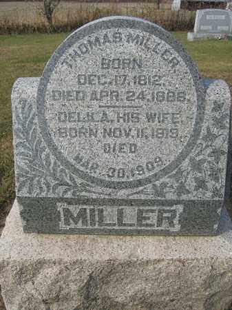 MILLER, THOMAS - Union County, Ohio | THOMAS MILLER - Ohio Gravestone Photos