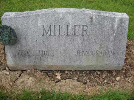MILLER, ZENO ELLIOTT - Union County, Ohio | ZENO ELLIOTT MILLER - Ohio Gravestone Photos