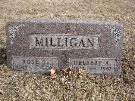 MILLIGAN, DELBERT A. - Union County, Ohio | DELBERT A. MILLIGAN - Ohio Gravestone Photos