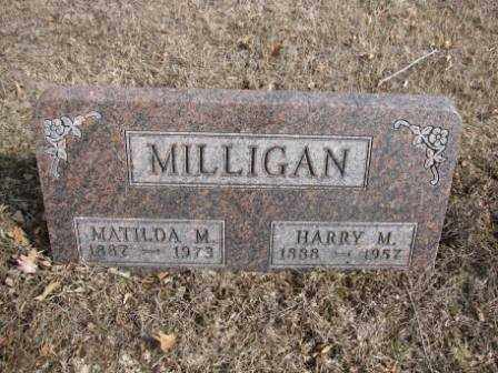 MILLIGAN, MATILDA M. - Union County, Ohio | MATILDA M. MILLIGAN - Ohio Gravestone Photos