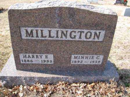 MILLINGTON, HARRY E. - Union County, Ohio | HARRY E. MILLINGTON - Ohio Gravestone Photos
