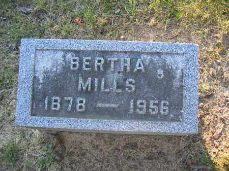 MILLS, BERTHA - Union County, Ohio | BERTHA MILLS - Ohio Gravestone Photos
