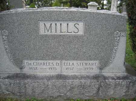 MILLS, DR. CHARLES D. - Union County, Ohio | DR. CHARLES D. MILLS - Ohio Gravestone Photos