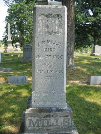 MILLS, P.R. - Union County, Ohio | P.R. MILLS - Ohio Gravestone Photos