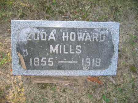 MILLS, ZODA HOWARD - Union County, Ohio | ZODA HOWARD MILLS - Ohio Gravestone Photos