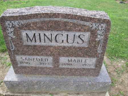 MINGUS, SANFORD - Union County, Ohio | SANFORD MINGUS - Ohio Gravestone Photos